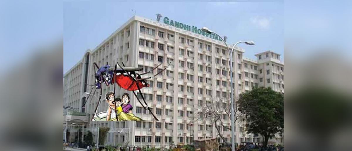 As Gandhi Hospital shoves, health department to set up another swine flu centre at OGH