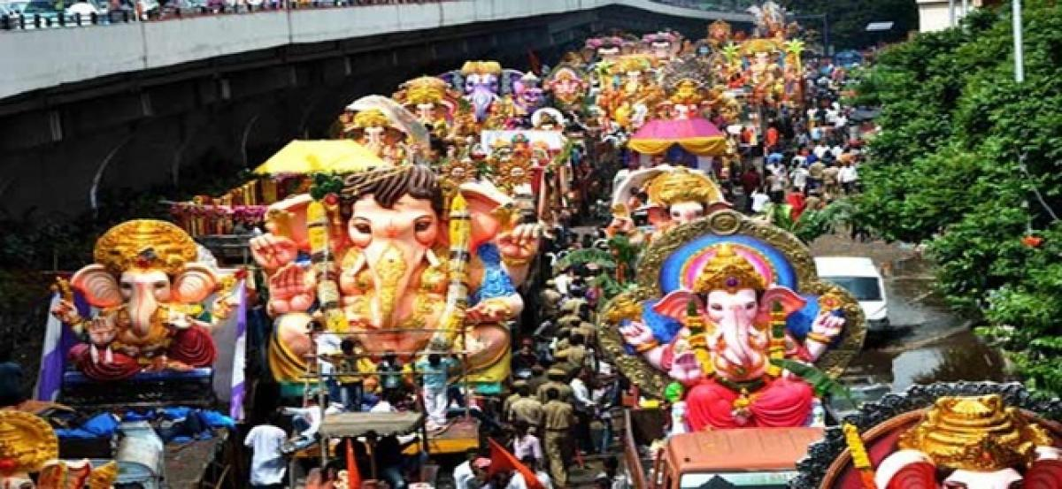 QR code for Ganesh Pandals to track immersion procession route