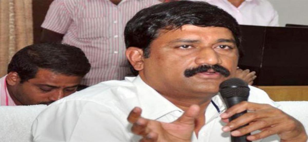 Will quit politics, if Kapus are not given BC status:Ganta Srinivasa Rao