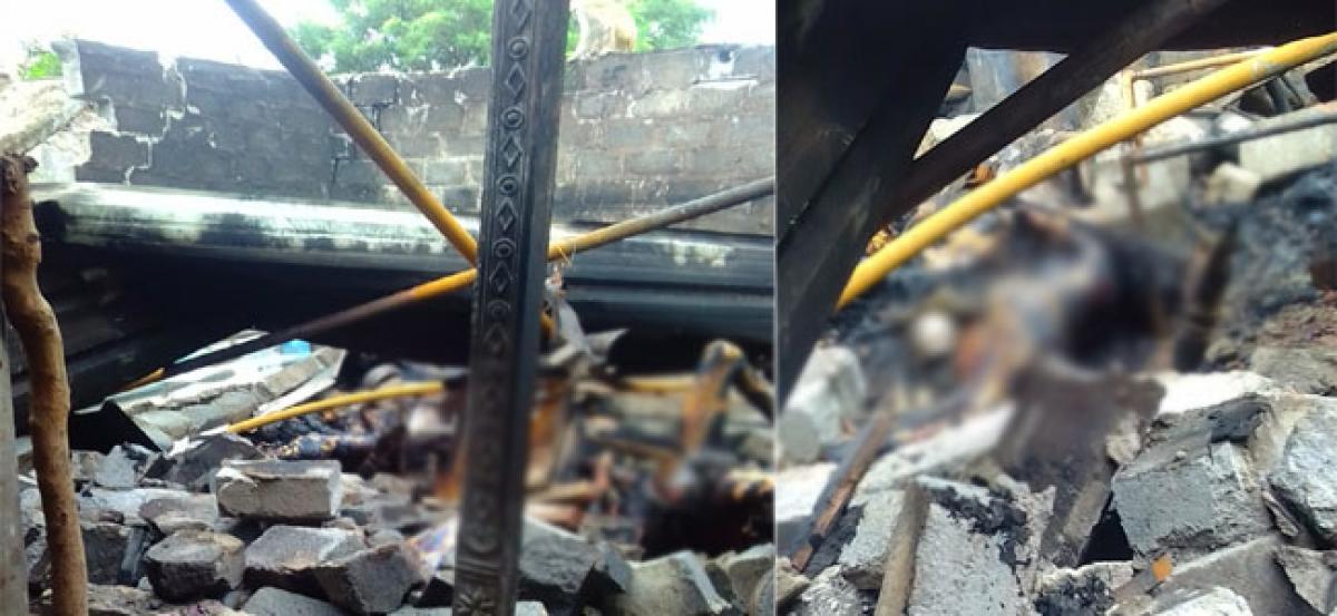 Cylinder blast kills three members of family in Warangal district