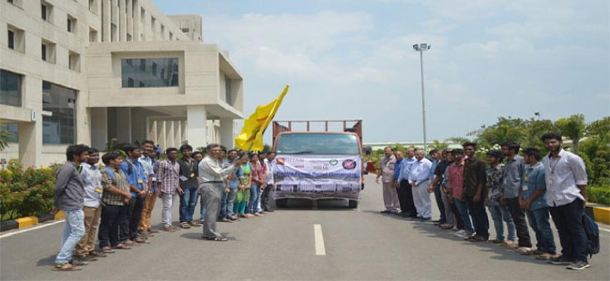 GITAM contributes to Kerala