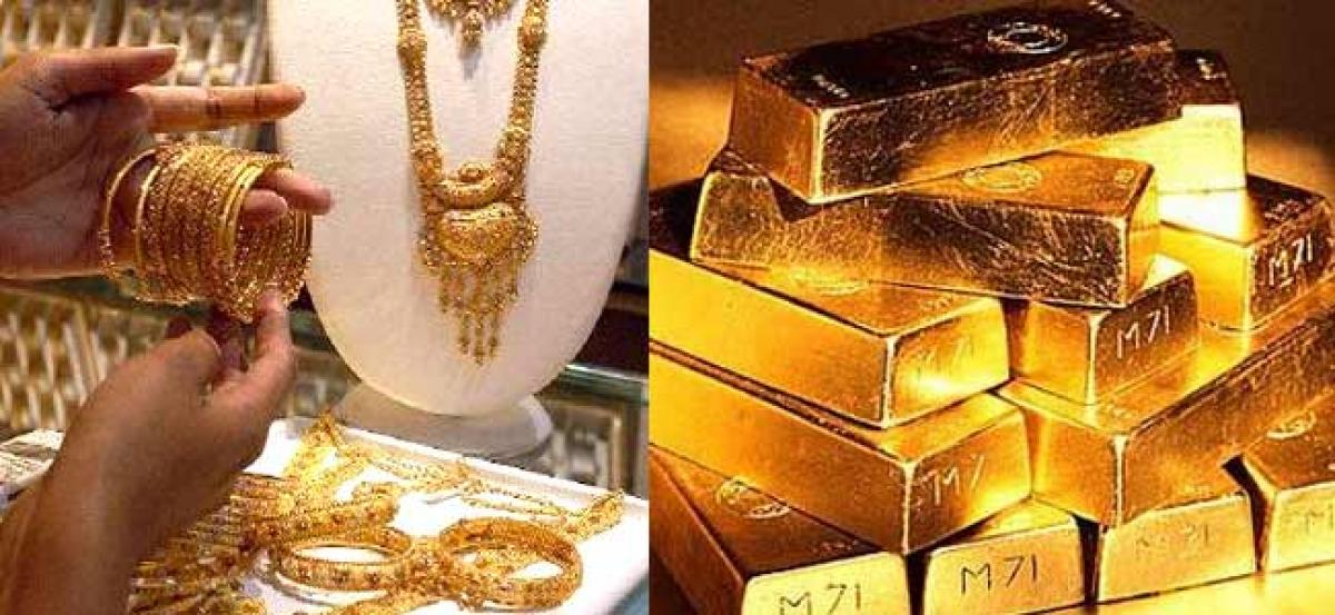 Gold Price touches 14month high: Rs31450