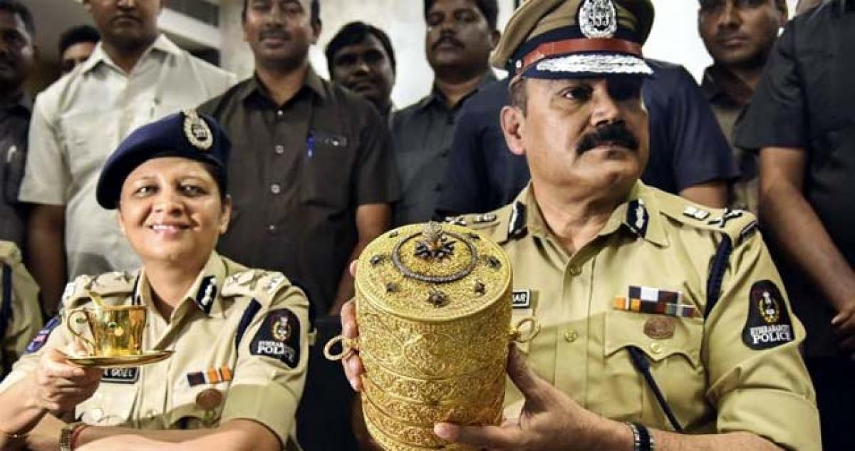 Two arrested in  sensational Nizam Museum theft case
