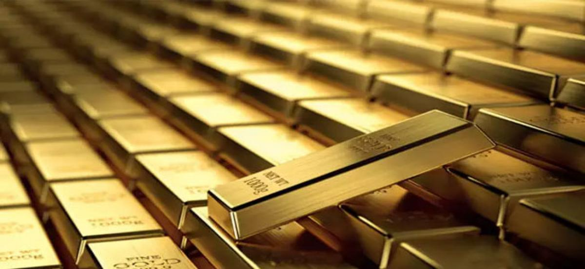 Gold futures gain 0.56% on global cues