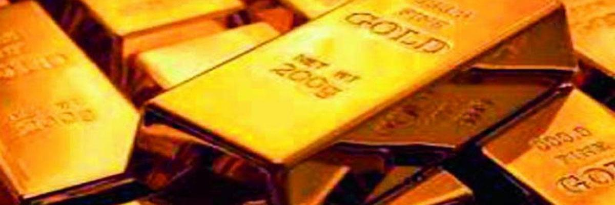Gold prices dip on sluggish buying by jewellers