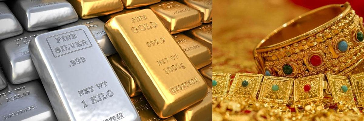 Gold prices jump Rs 230, silver gains Rs 250