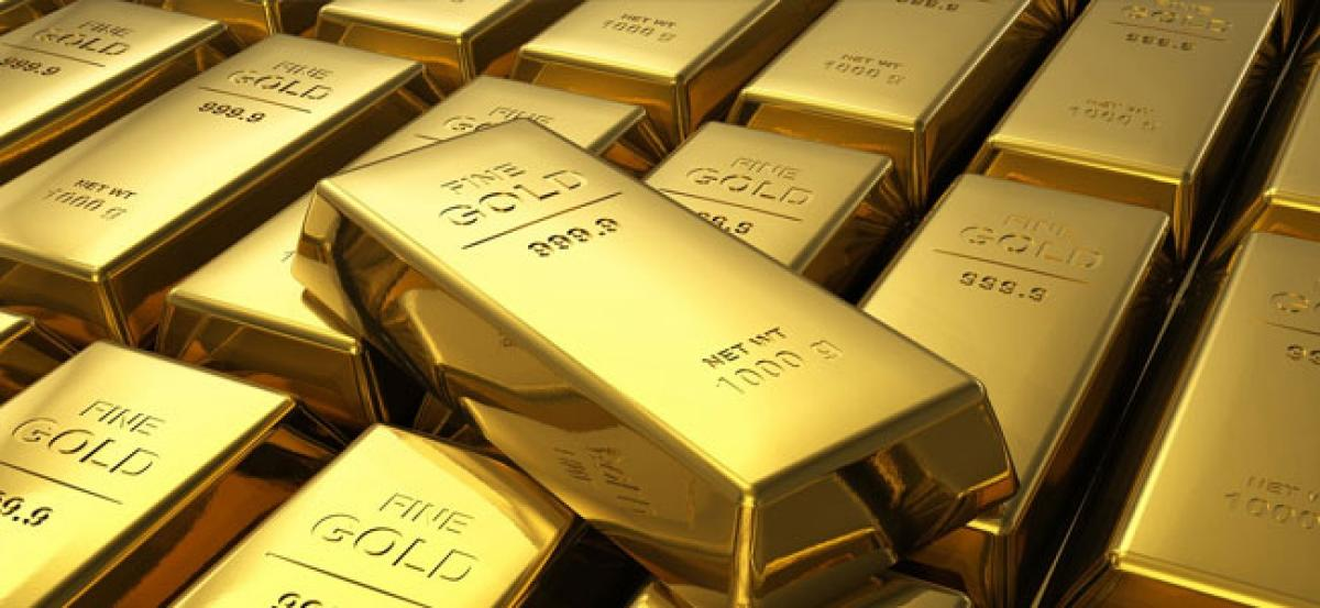 Gold futures rise 0.31% on positive global cues