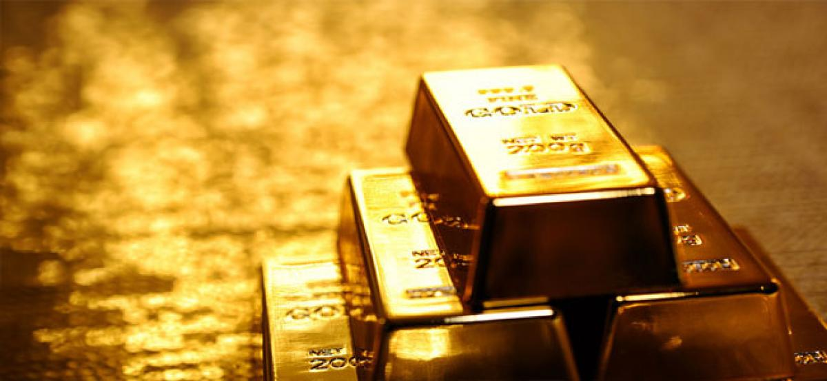 As stock markets face meltdown, gold jumps to 14-month high