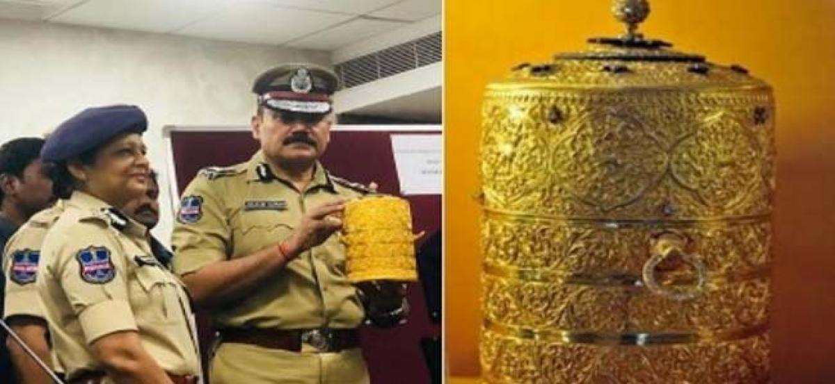 Nizam Museum Heist: School dropouts behind burglary, had food in golden tiffin box