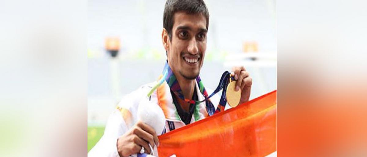 Sharad Kumar wins Gold Medal at the Asian Para Games