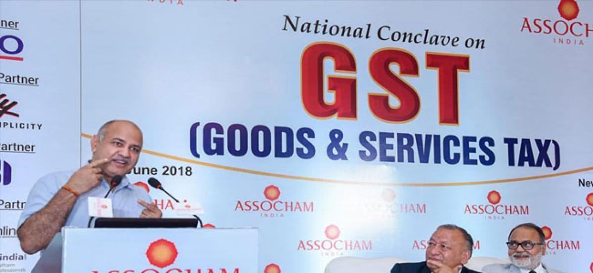 Manish Sisodia calls for abolishing IGST, says collection money lying idle
