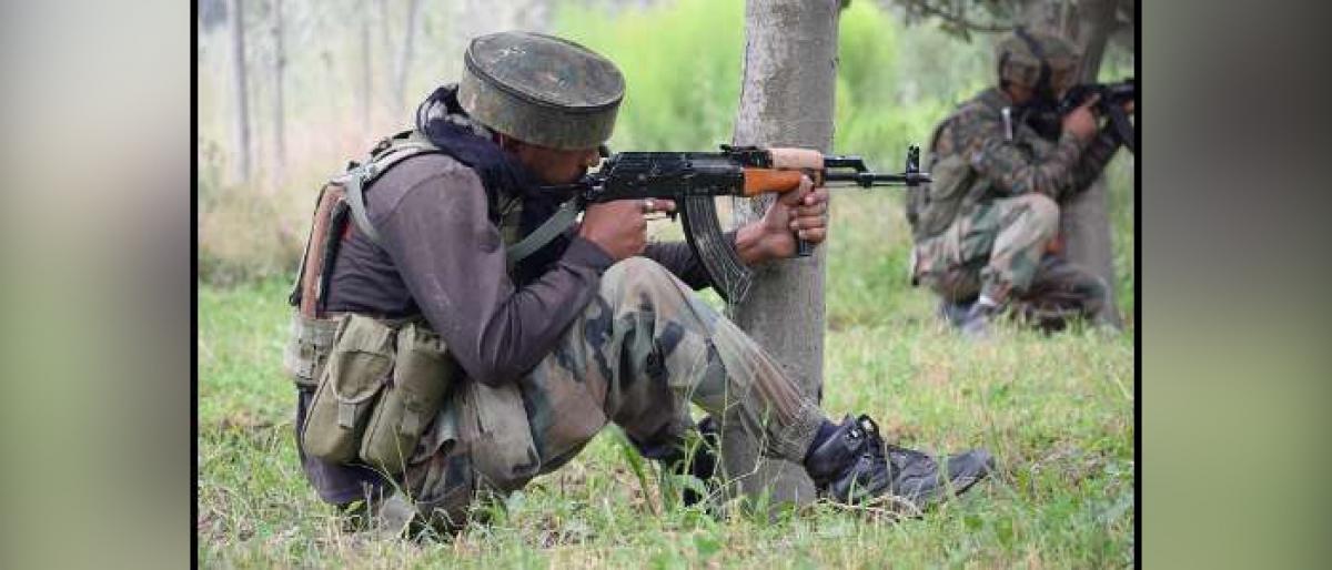 Militant killed in J&K gunfight, another injured