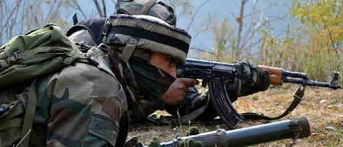 Militant killed in J & K gunfight