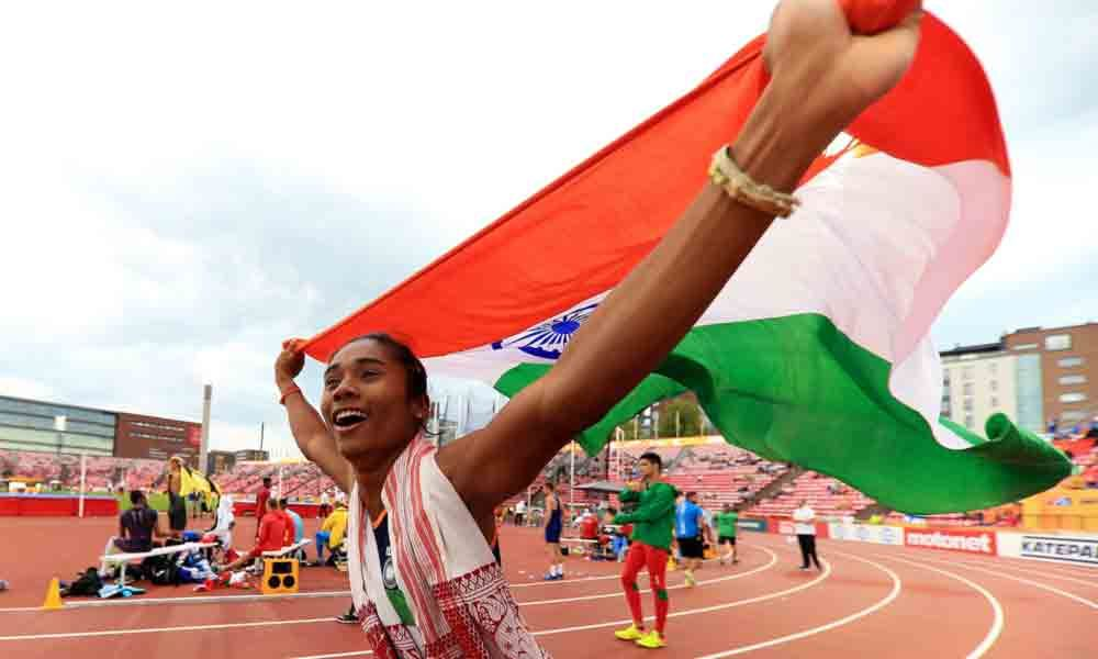 Sprinter Hima Das nearing her best