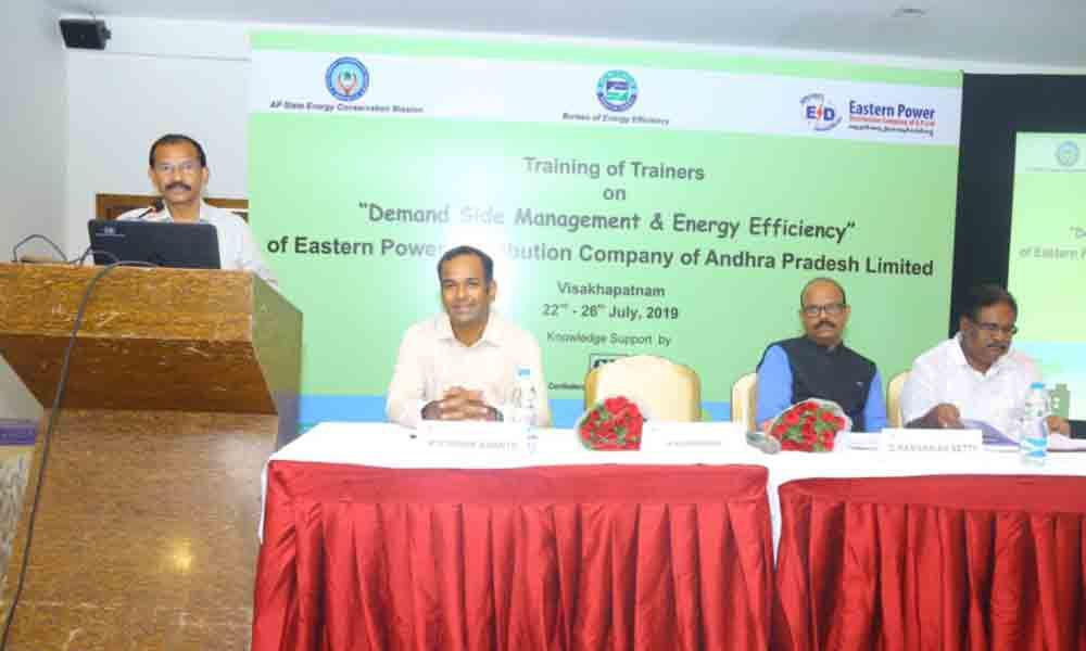 5-day training for APEPDCL circle level officers begin in Visakhapatnam