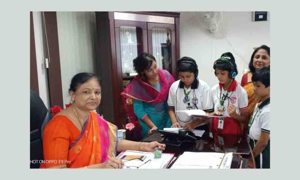 DPS(Delhi Public School) Radio Lab goes on air