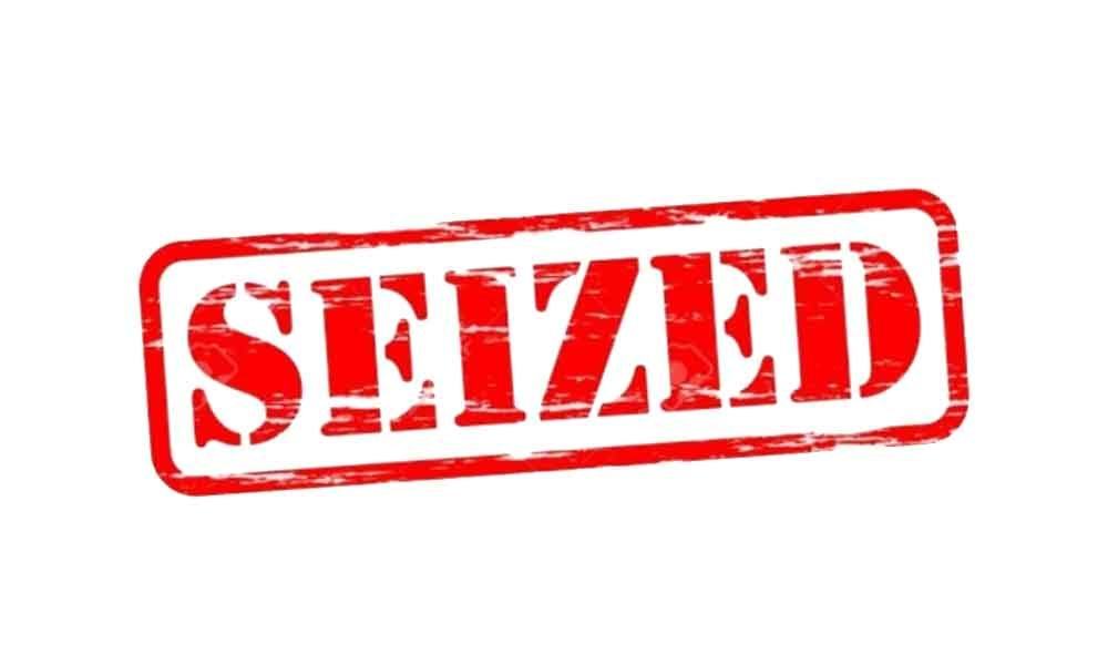 DRI seizes huge haul of banned products