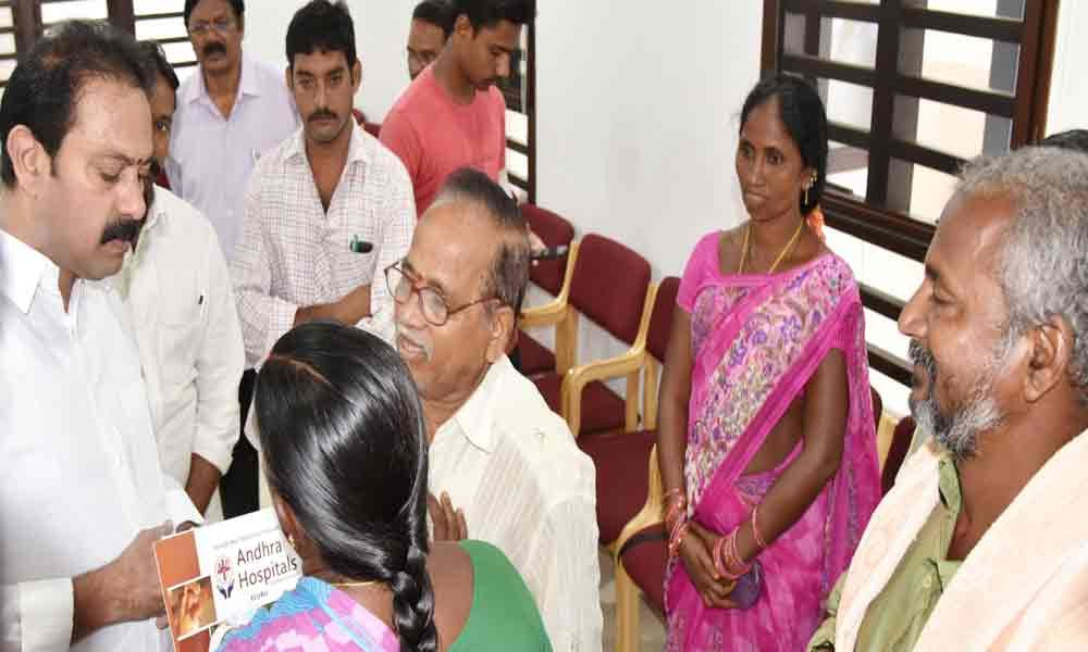 Check spread of contagious diseases, officials told Deputy CM Alla Nani