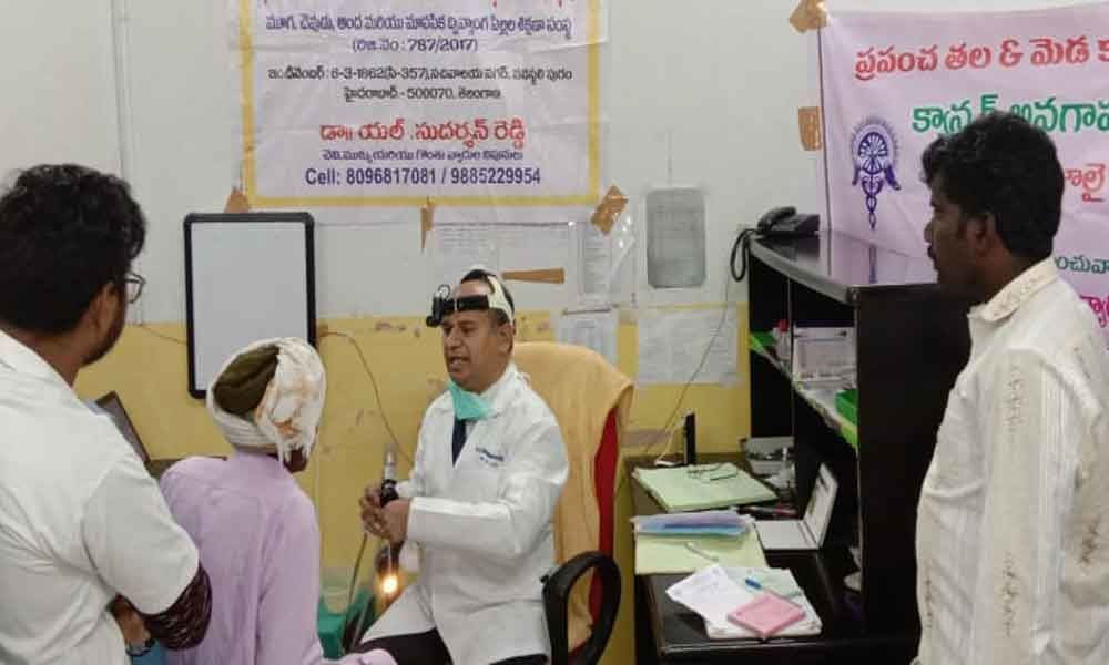 Awareness drive held on head & neck cancer