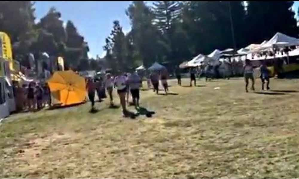 Watch: Many injured in California Garlic festival shooting, search for huntmen on