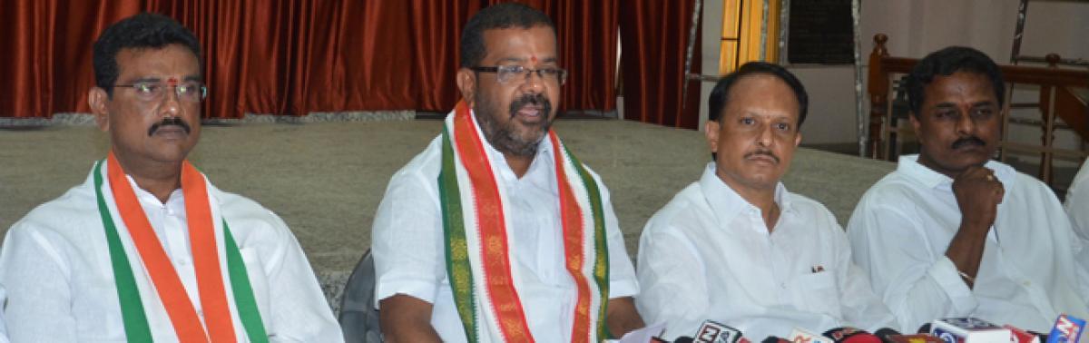 Hanamkonda Congress cadres told to gear up for 2019 polls