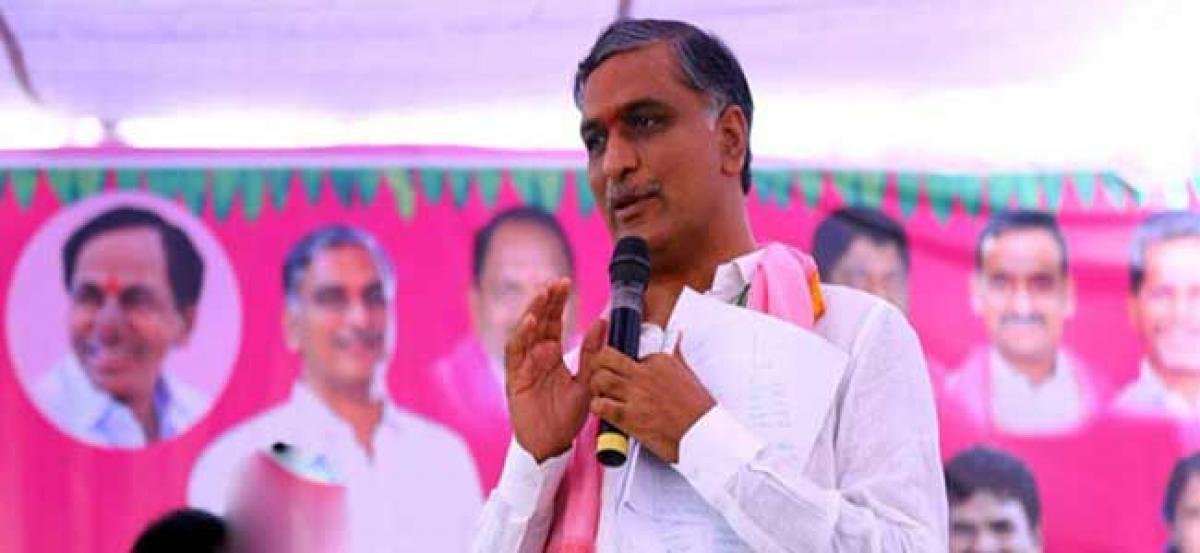 Harish Rao says KCR's victory is a must and a Historical Necessity