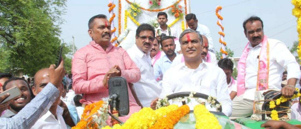 Gajwel heading towards development: Harish Rao