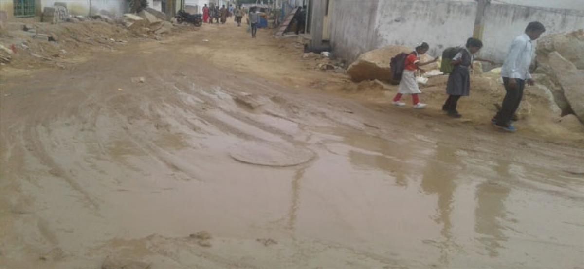 No road, no vote, vow Hafeezpet residents