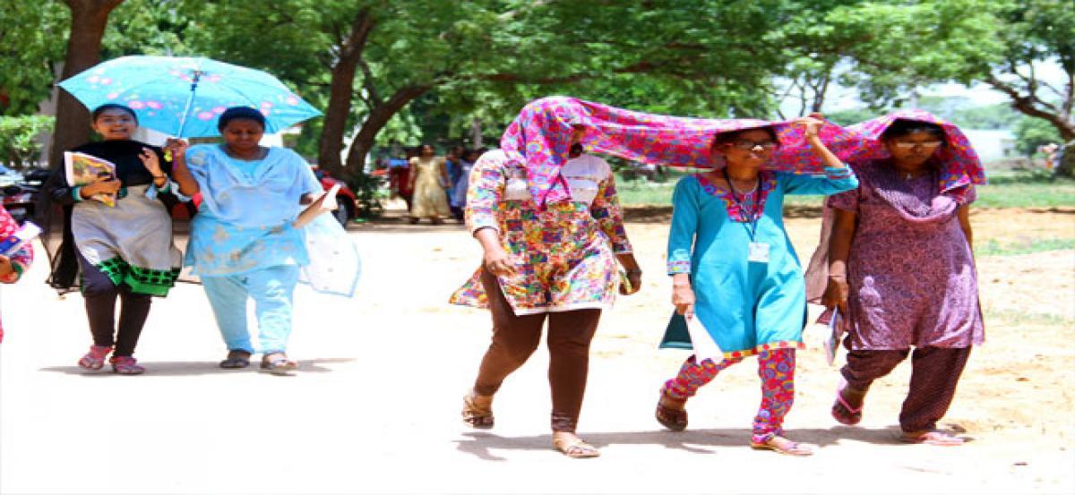 Tirupati in grip of heat wave