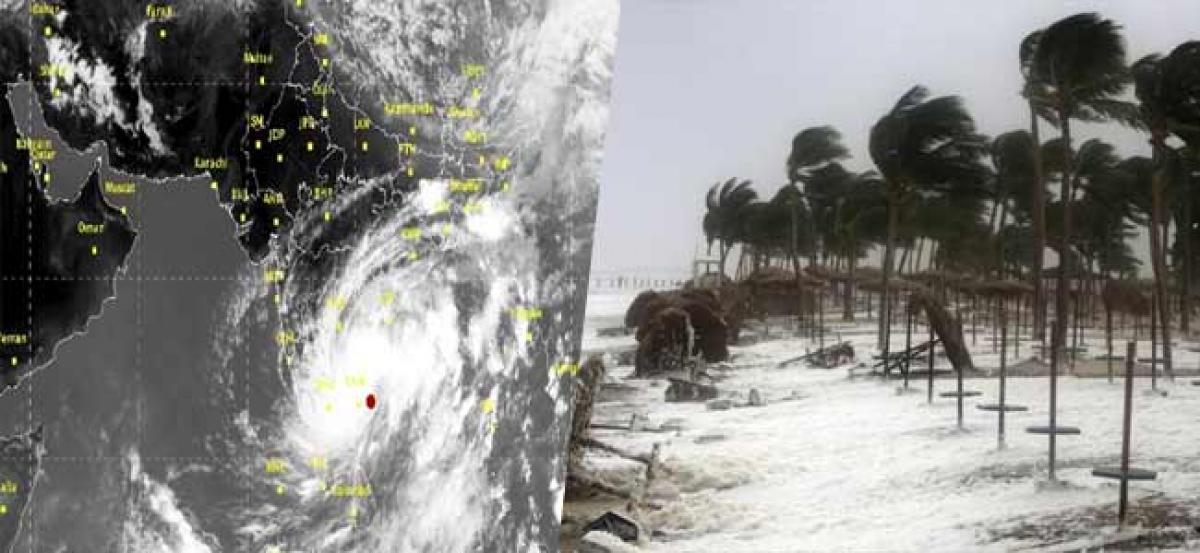 High alert to coastal AP Heavy to Very heavy falls in the next 48-hours