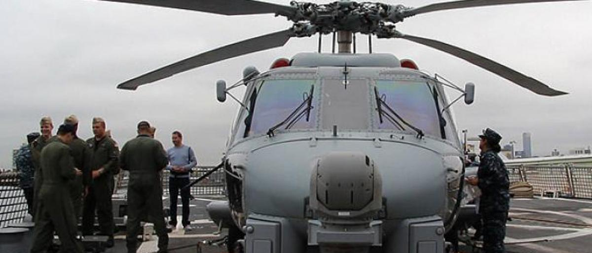 India seeks to buy anti-submarine choppers Romeo from US for USD 2 bn