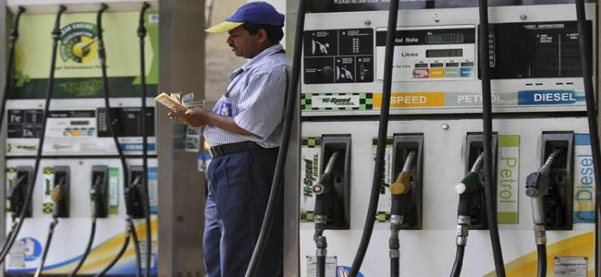 Petrol prices at 3-year high; diesel at record high