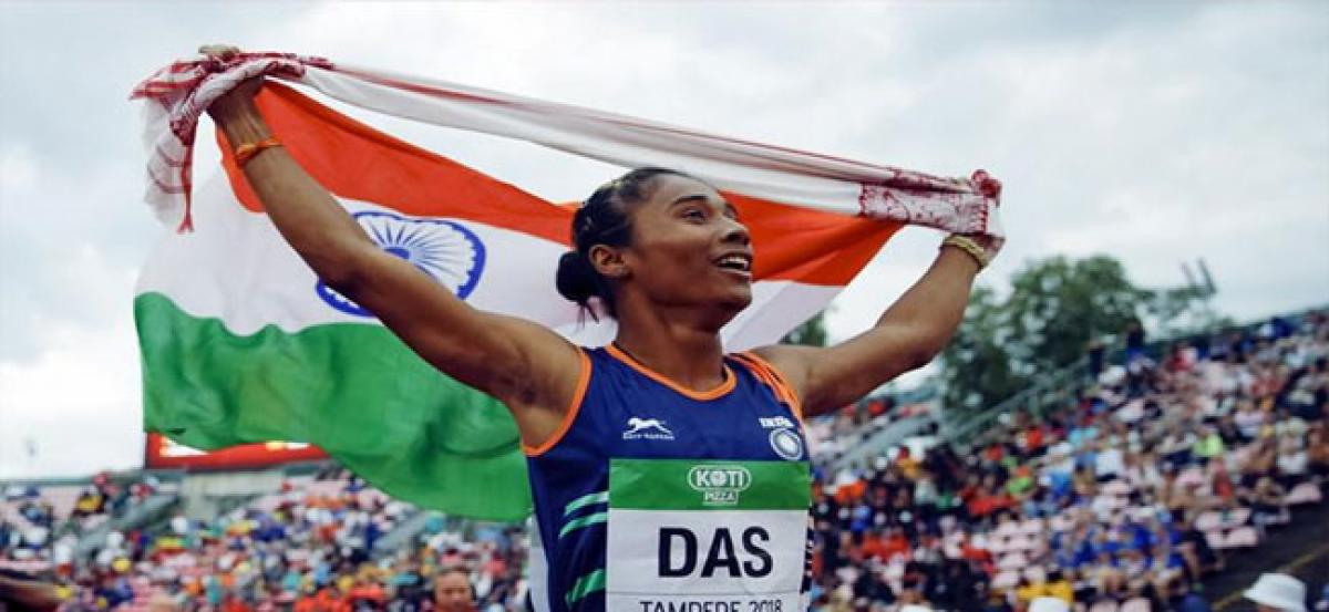 Hima Das to receive government funding till Tokyo 2020 Olympics