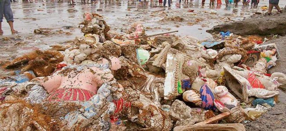 Pollution levels in Hussain Sagar reduced weeks after Ganesh immersion