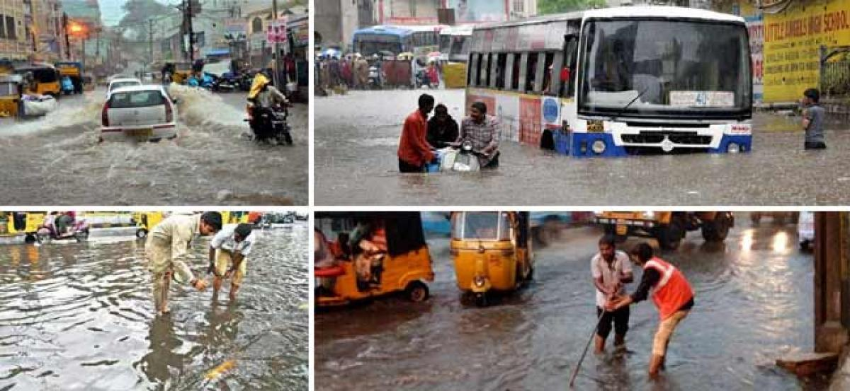Heavy rains can throw life out of gear in Hyderabad