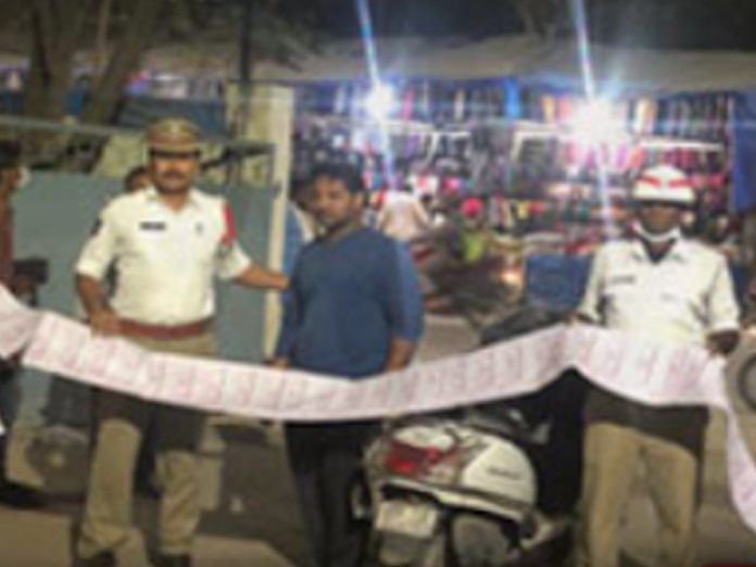 Meet Hyderabad man with 80 pending challans issued for violating traffic