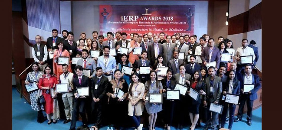 More than 150 Doctors and Researches in 20 states awarded in the First edition of iERP Awards