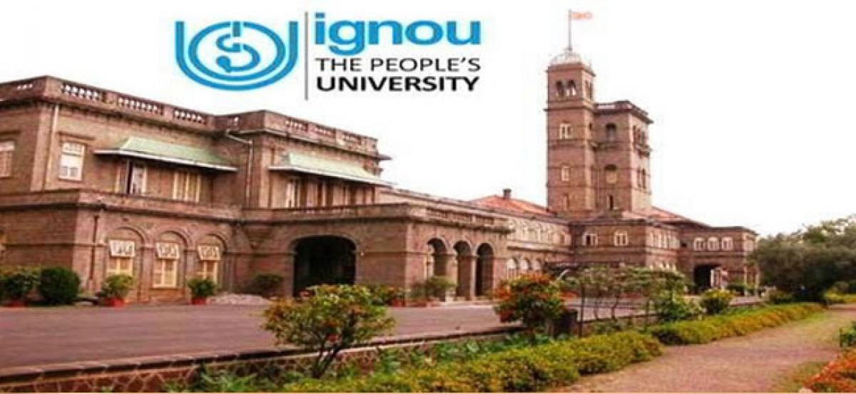 Indira Gandhi National Open University courses last date extended