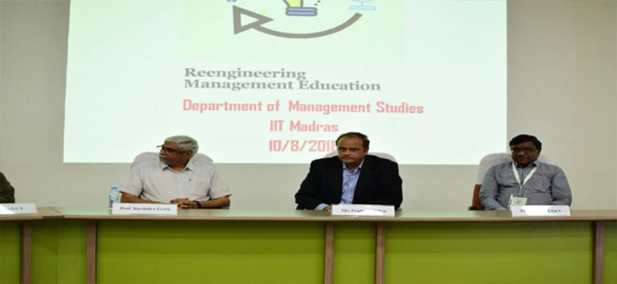 IIT-Madras to re-define management education for the digital era