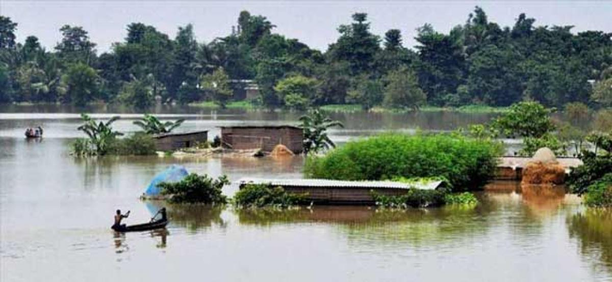 Assam districts bordering Arunachal Pradesh on flood alert