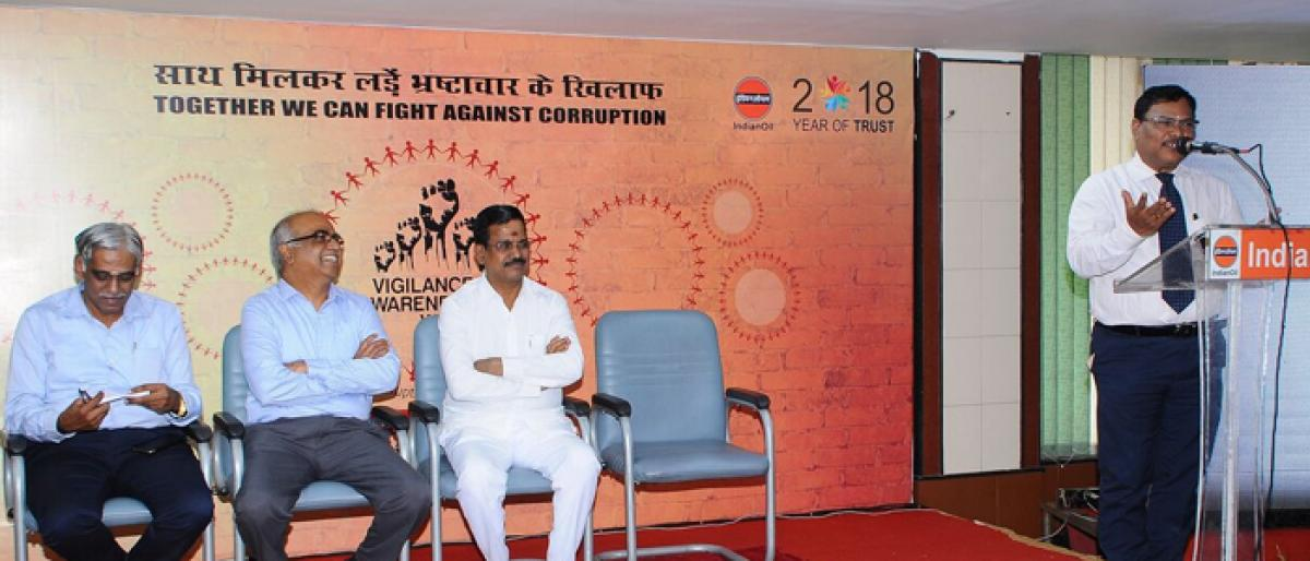 Vigilance Awareness Week observed at IndianOil