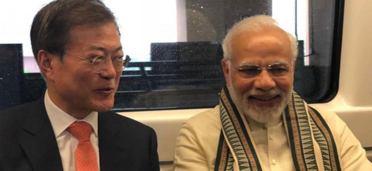 India, South Korea sign trade and commerce agreements, hold talks