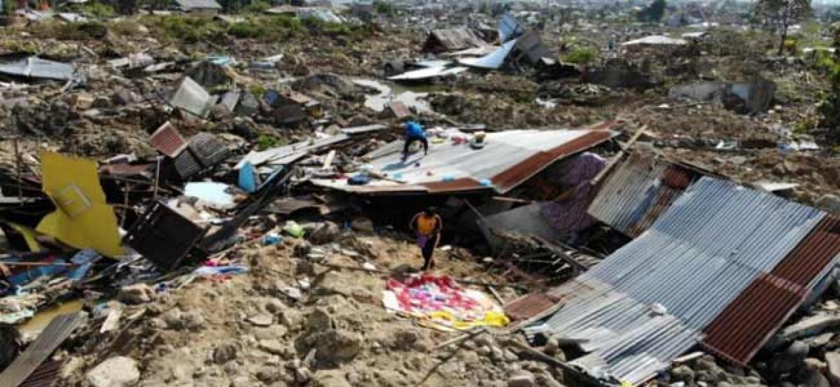 Search in Indonesian quake-tsunami called off despite 5,000 still missing