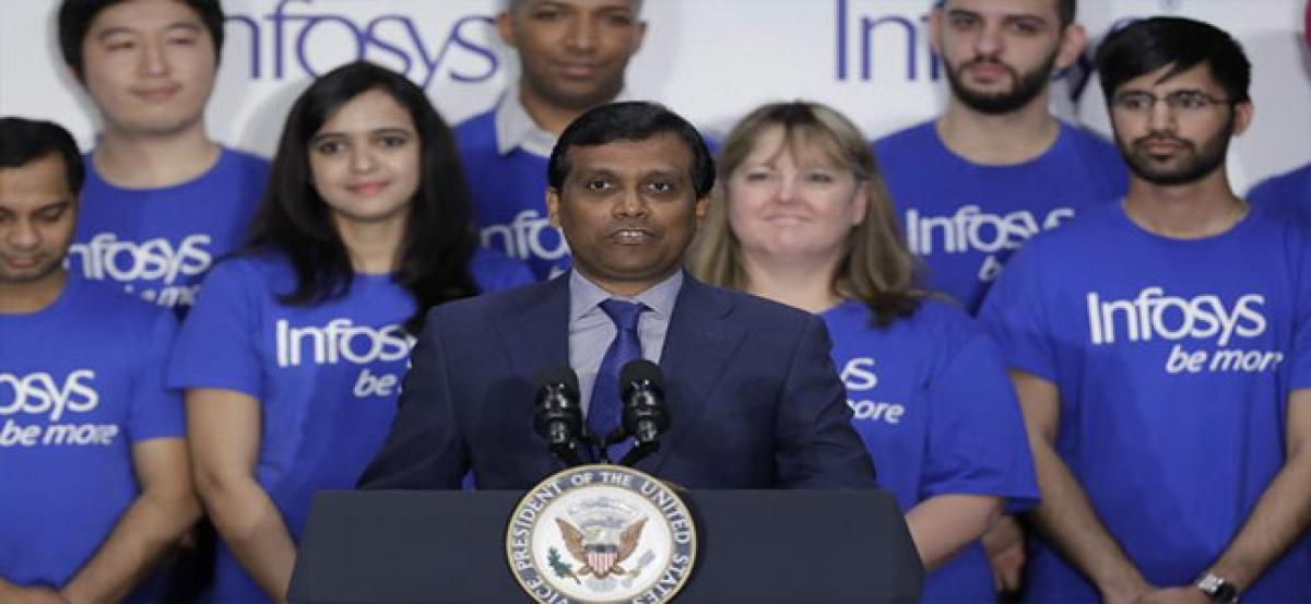 Infosys plans to add 3,000 workers in US by 2023