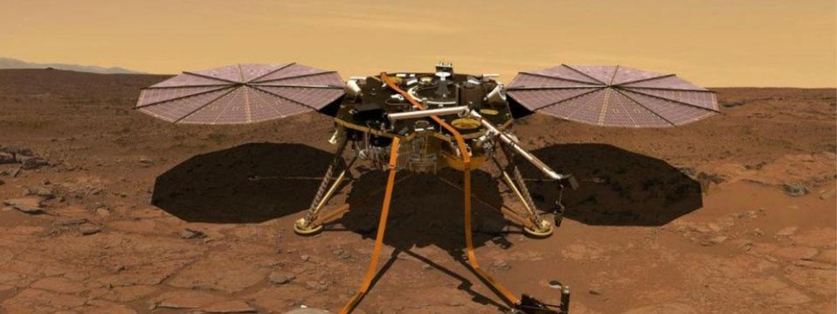 World Watches as InSight Readies to Touch Down on Mars Tonight
