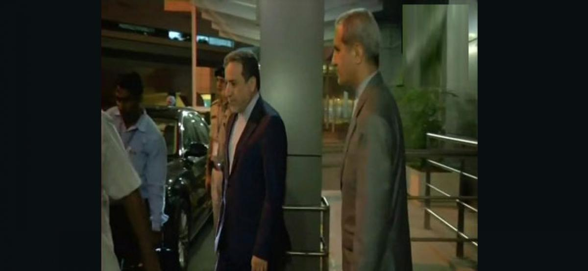 Iran Dy Foreign Minister arrives in India