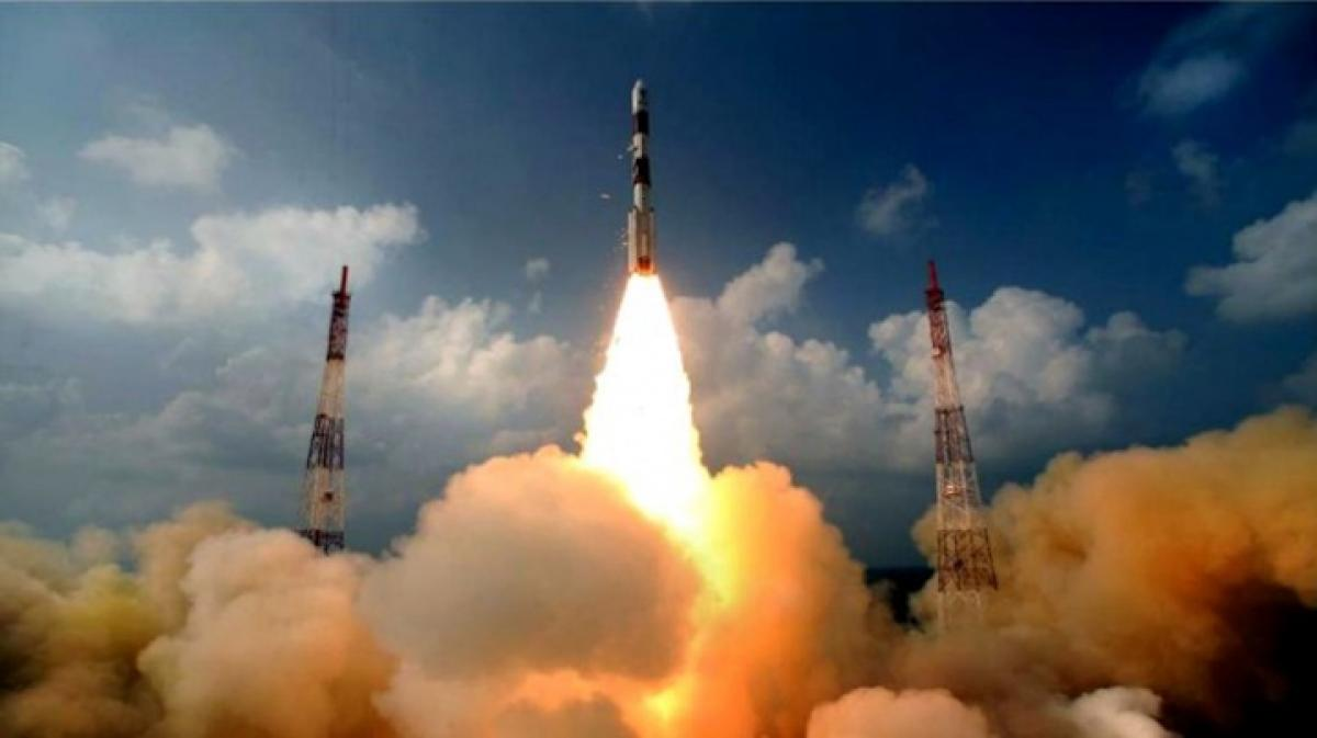 Indias first navigational satellite blasts off