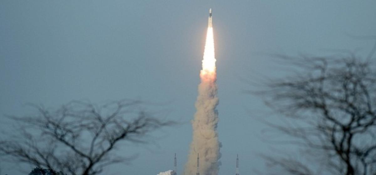 Watch: ISRO launches communication satellite from Sriharikota