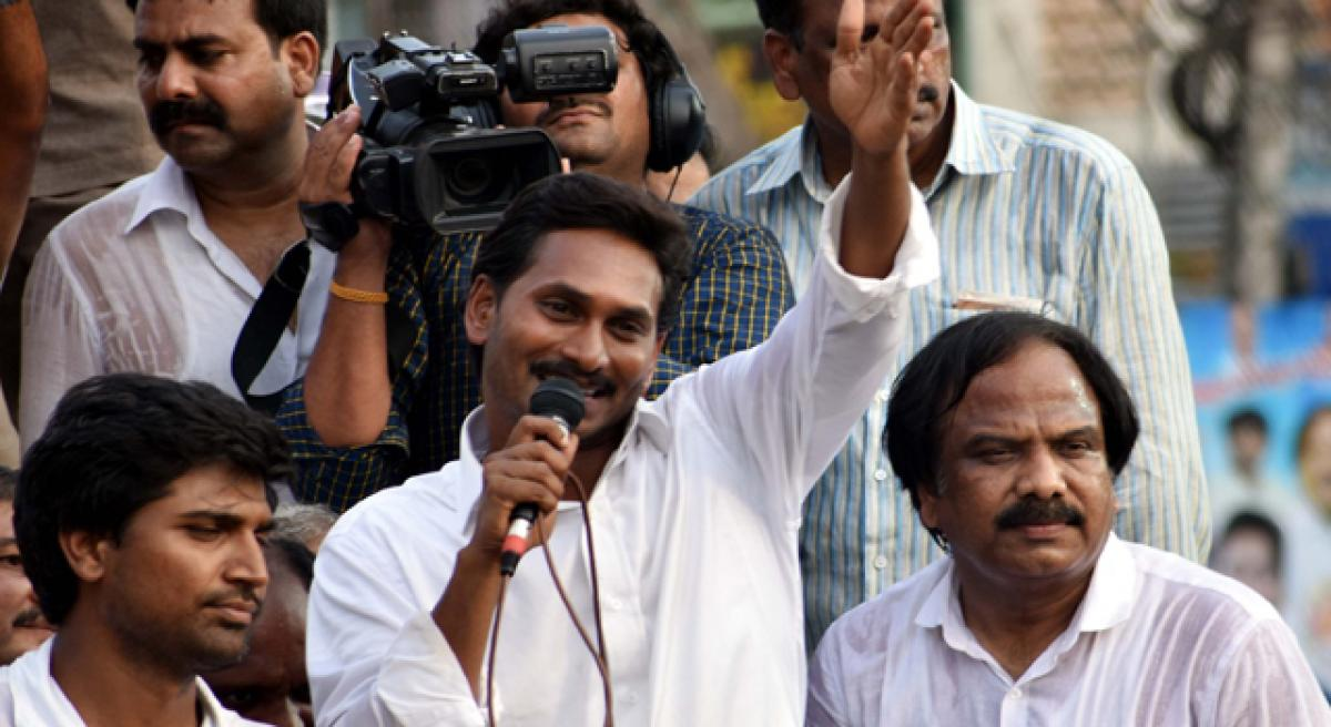 Chandrababu Naidu playing double game on Special Category Status, alleges Jagan