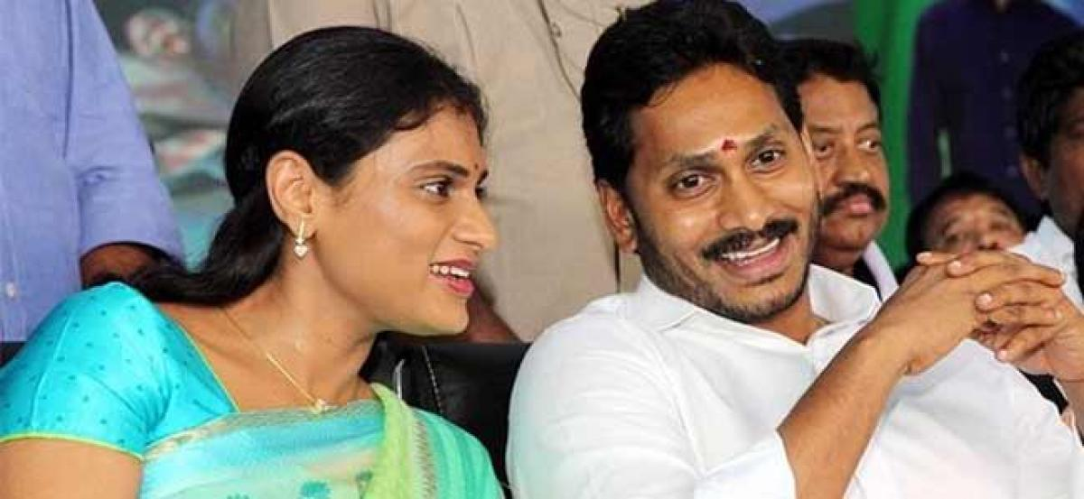 Jagan Plans To Field Sharmila From Ongole ?